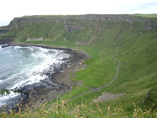 A sweeping view of the Causeway - breathtaking!