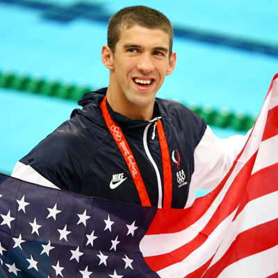 Best Olympic Swimmer of all time? Check!
